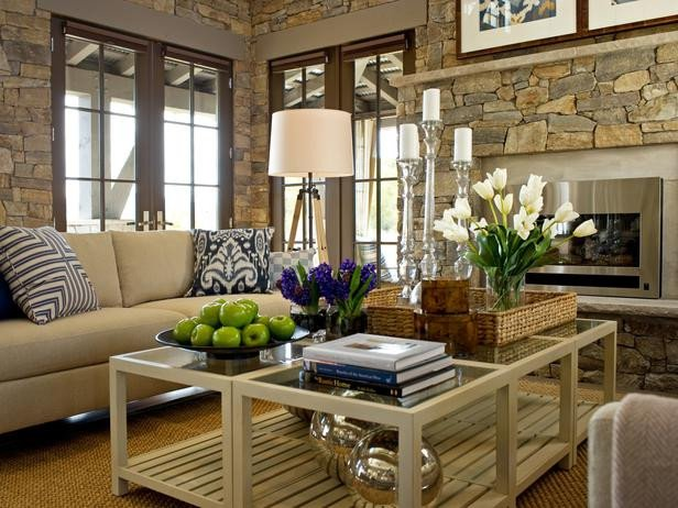Table Decorating Ideas Living Room Modern Furniture Design Hgtv Dream Home 2012 Living