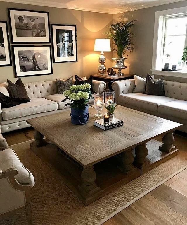 Table Decorating Ideas Living Room Two Coffee Tables Put to Her Love Decor