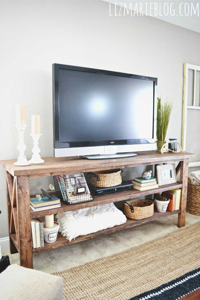 Table for Tv In Bedroom 50 Creative Diy Tv Stand Ideas for Your Room Interior Diy
