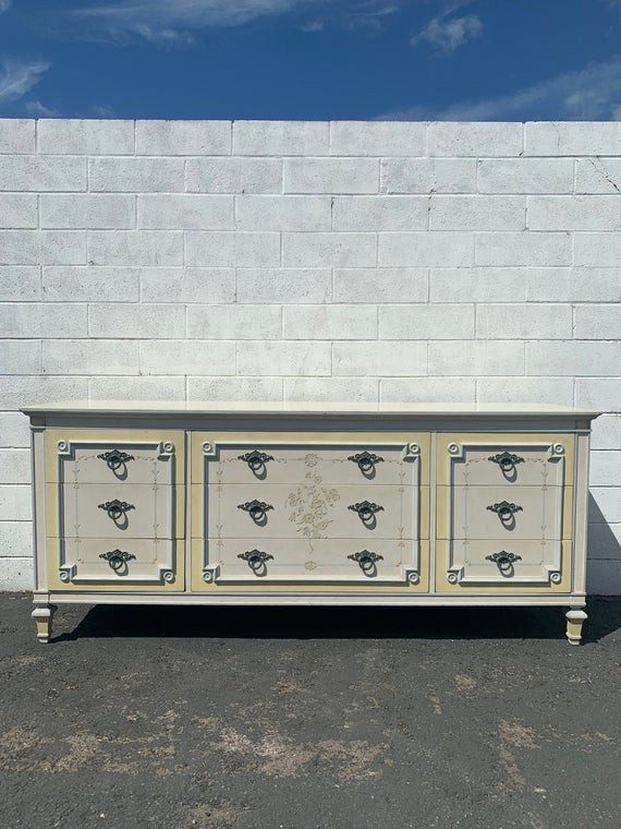 Table for Tv In Bedroom Dresser Chest Drawers Changing Table Media Console Tv Stand Shabby Chic Regency French Provincial Buffet Bedroom Storage Custom Paint Avail