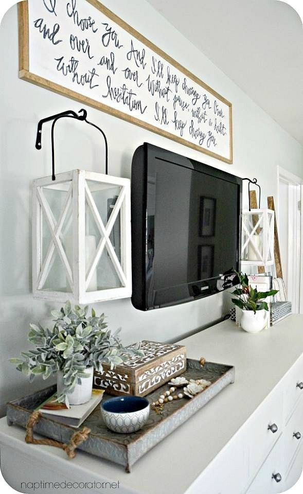 Table for Tv In Bedroom Home Decor Diy Lantern Tv Tv Stand Rustic Farmhouse