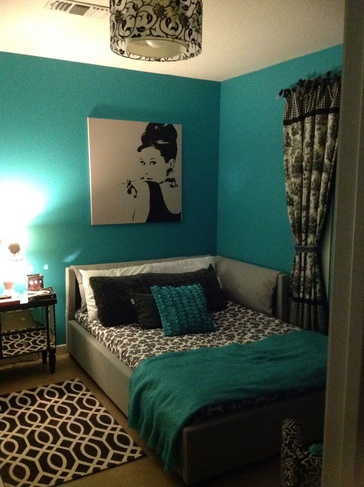 Teal and Gray Bedroom Decor 27 Trendy Turquoise Bedroom Ideas