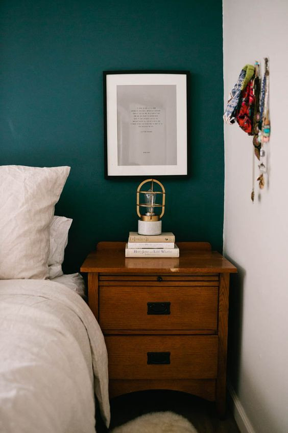 Teal and Gray Bedroom Decor Dark Turquoise Boho Bedroom Inspiration