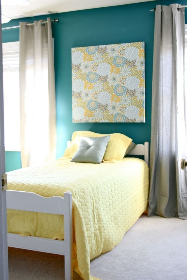 Teal and Gray Bedroom Decor Teal Yellow and Gray Love This Want My Bedroom to Look
