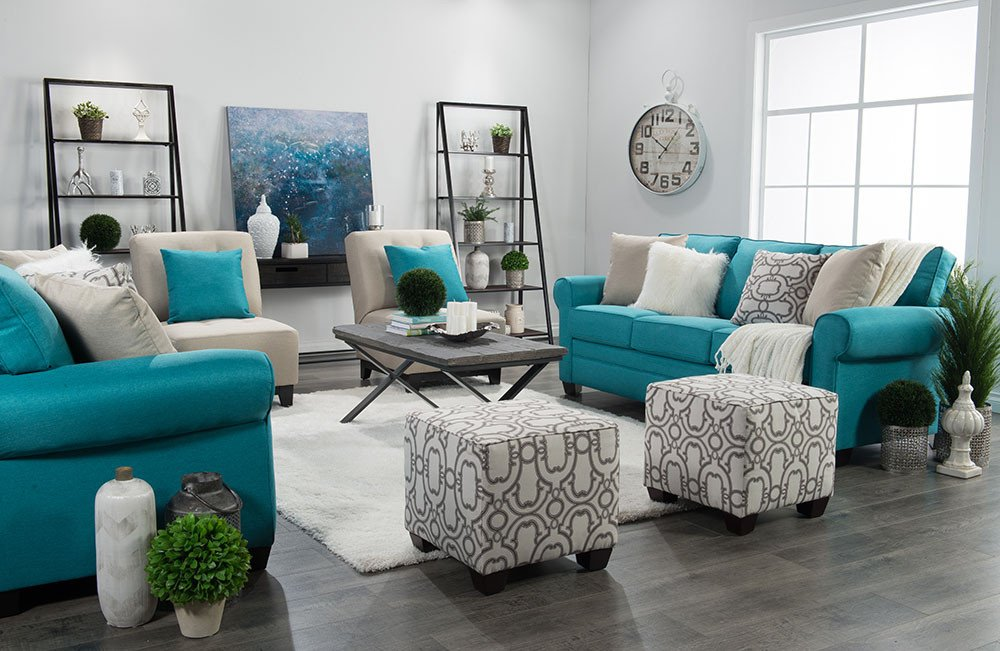 Teal Decor for Living Room How I Design A Room Win $2500 In Custom Furniture