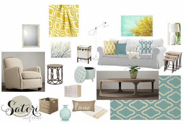 Teal Decor for Living Room Living Room Color Palette 3 Ways Satori Design for Living