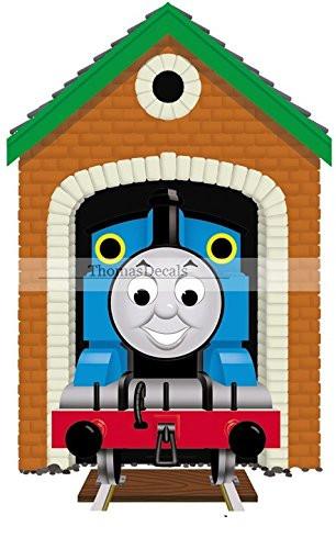 "Thomas the Train Bedroom Decor Amazon 9"" Thomas the Tank Engine & Friends Blue No 1"
