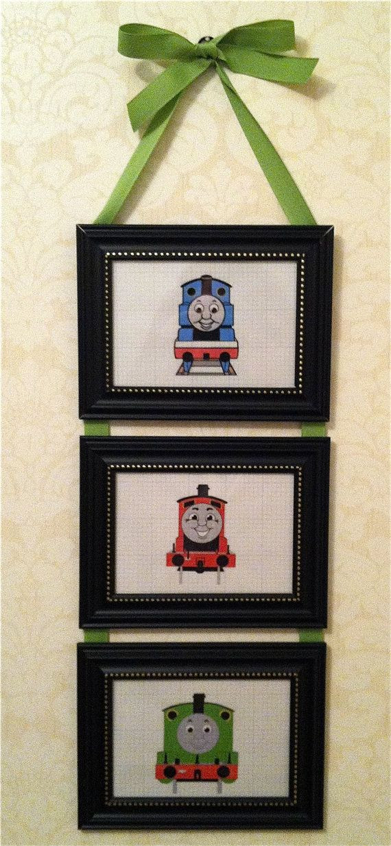 Thomas the Train Bedroom Decor Handmade Thomas the Tank Engine and Friends by