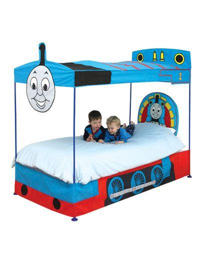 Thomas the Train Bedroom Decor Thomas the Tank Engine Thomas and Friends Bed Canopy Ready