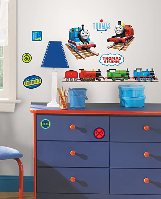 Thomas the Train Bedroom Decor Thomas the Tank Engine Wall Decals