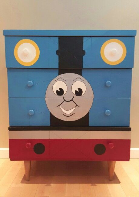 Thomas the Train Bedroom Decor Thomas the Train Dresser