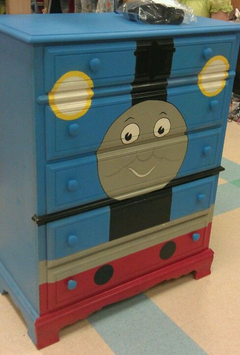Thomas the Train Bedroom Decor Will Have to Find Me An Old Dress to Spruce Up for Keegen S