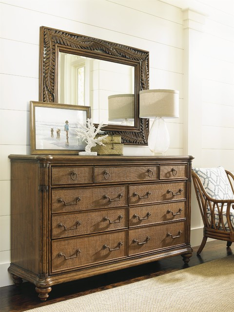Tommy Bahama Bedroom Furniture tommy Bahama Home Bali Hai Costa Sera Triple Dresser and