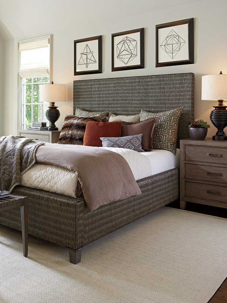 Tommy Bahama Bedroom Furniture tommy Bahama Home Cypress Point Driftwood isle Woven King Platform Bed 01 0562 134c