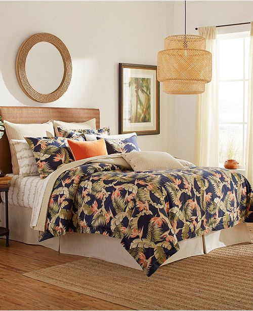 Tommy Bahama Bedroom Furniture tommy Bahama San Jacinto Bedding Collection