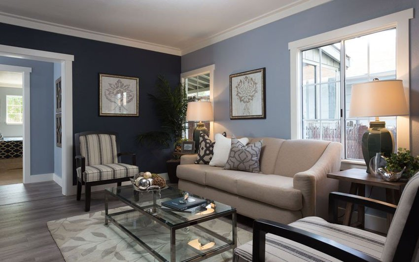 Traditional Blue Living Room 26 Blue Living Room Ideas Interior Design