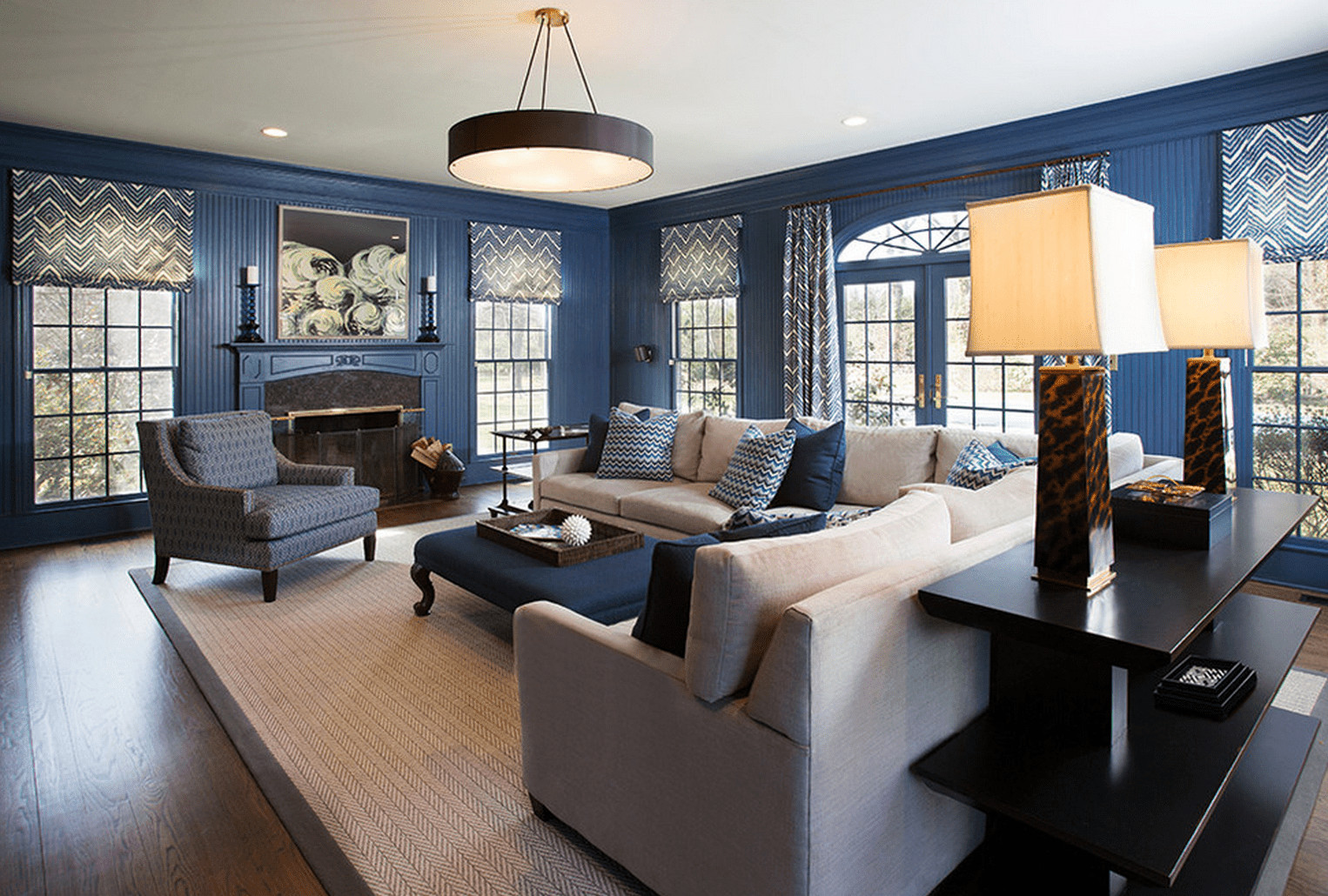 Traditional Blue Living Room 30 Best Living Room Paint Colors Ideas