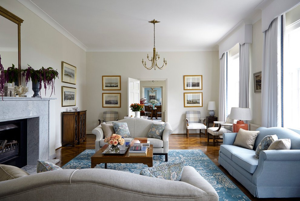 Traditional Blue Living Room Beautiful Hortons Lighting Mode Sydney Traditional Living