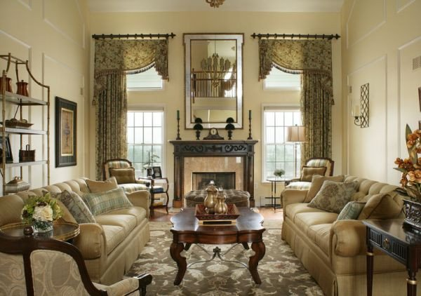 Traditional Chic Living Room 10 Traditional Living Room Décor Ideas