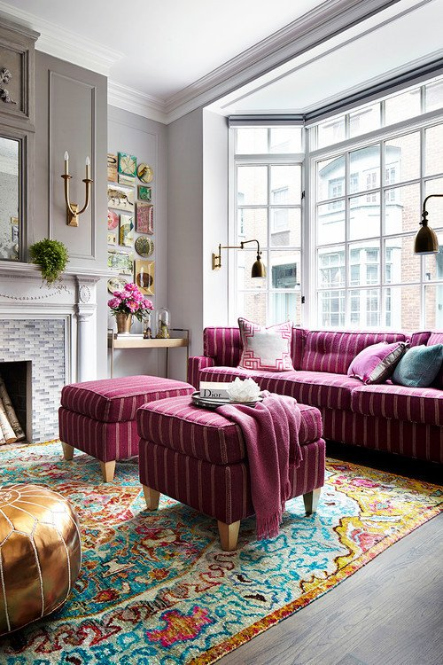 Traditional Chic Living Room Boho Chic Style are You A Fan town & Country Living