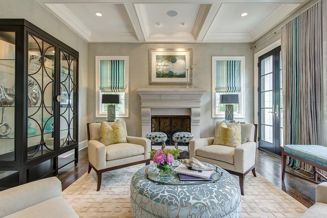 Traditional Chic Living Room Classic Chic Living Room Transitional Living Room St