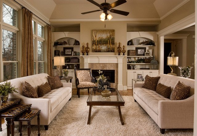 Traditional Chic Living Room Traditional Living Room