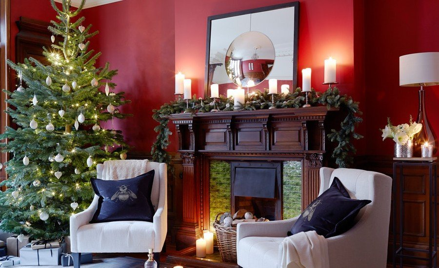 Traditional Christmas Living Room 50 Best Inspiring Christmas Tree Decorating Ideas