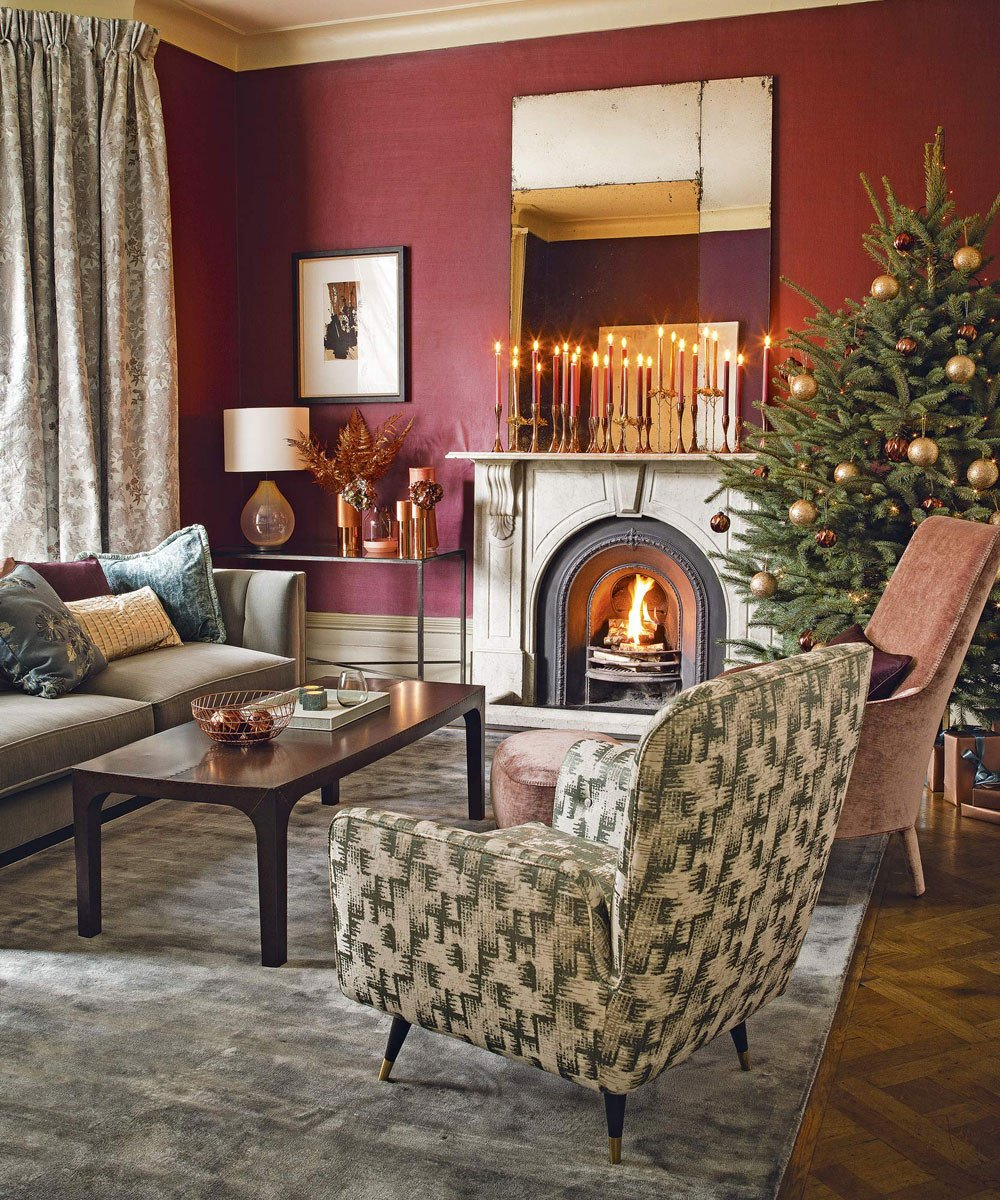 Traditional Christmas Living Room Christmas Living Room Decorating Ideas to You In the