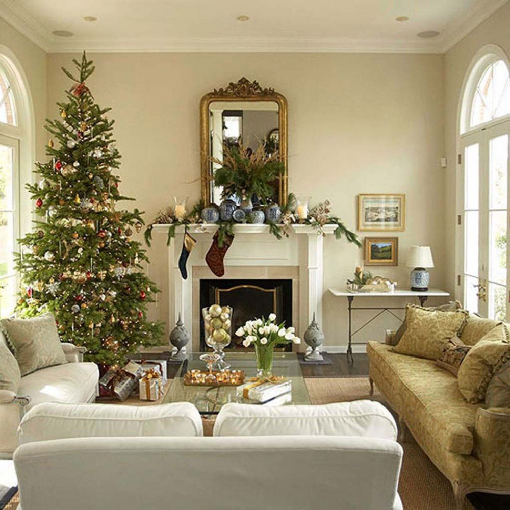 Traditional Christmas Living Room Get Inspired with these Amazing Living Rooms Decor Ideas