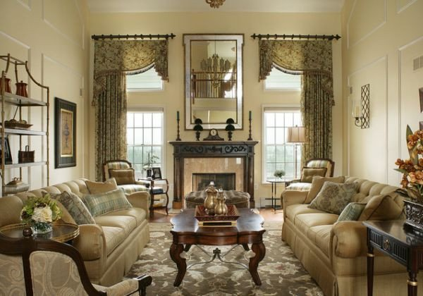 Traditional Draperies Living Room 125 Living Room Design Ideas Focusing Styles and