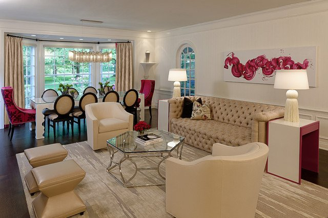 Traditional Eclectic Living Room A Fresh Take On Traditional Eclectic Living Room