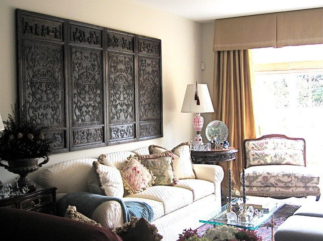 Traditional Eclectic Living Room asian Eclectic Home Traditional Living Room Detroit