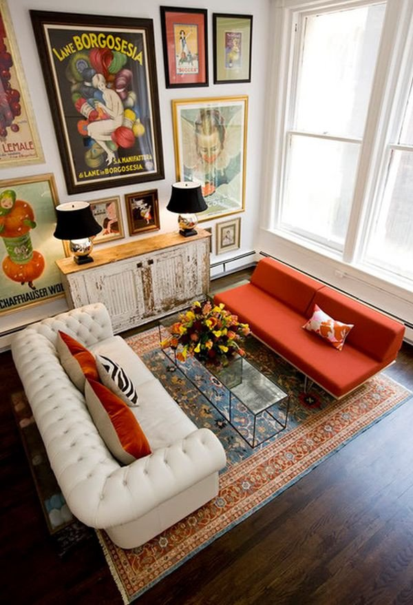 Traditional Eclectic Living Room Eclectic Home Design Style Characteristics