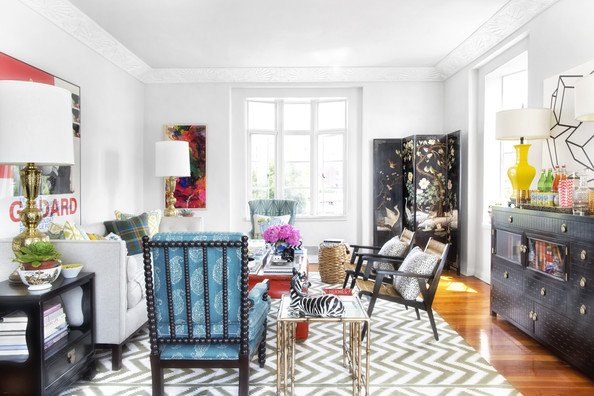 Traditional Eclectic Living Room Eclectic Living Room S 262 Of 552