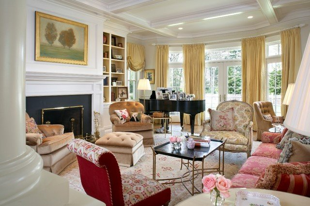Traditional Eclectic Living Room Eclectic Living Room Traditional Living Room Boston
