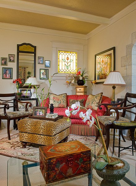 Traditional Eclectic Living Room Eclectic Style Traditional Living Room Other by