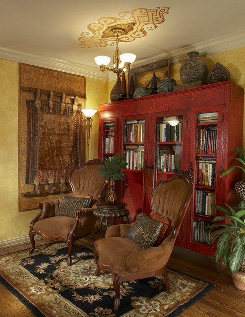 Traditional Eclectic Living Room Small Eclectic Rooms Traditional Living Room Dallas