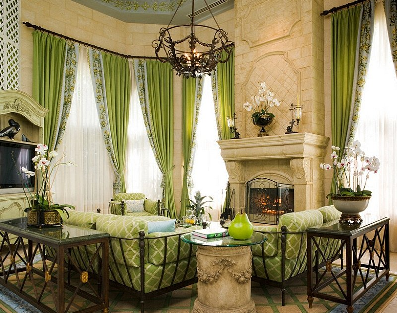 Traditional Green Living Room 25 Green Living Rooms and Ideas to Match