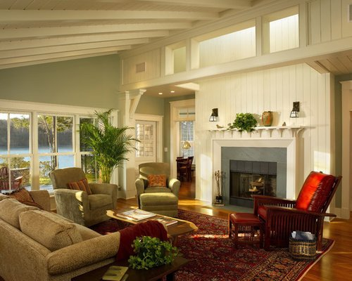 Traditional Green Living Room Green Living Room Home Design Ideas Remodel and