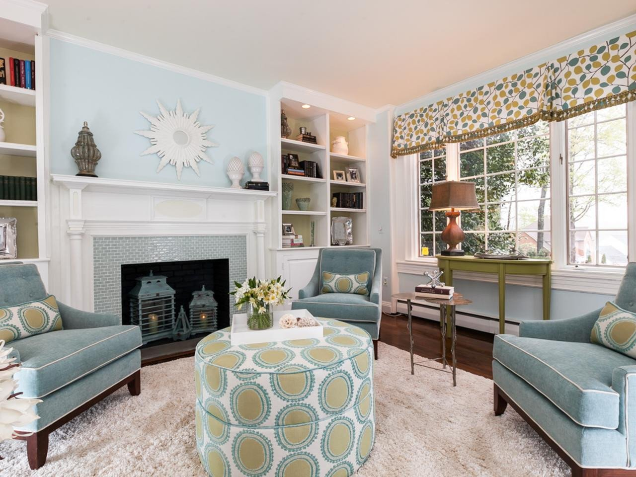 Traditional Green Living Room Traditional Style Living Room with Modern Twist Liz Blue