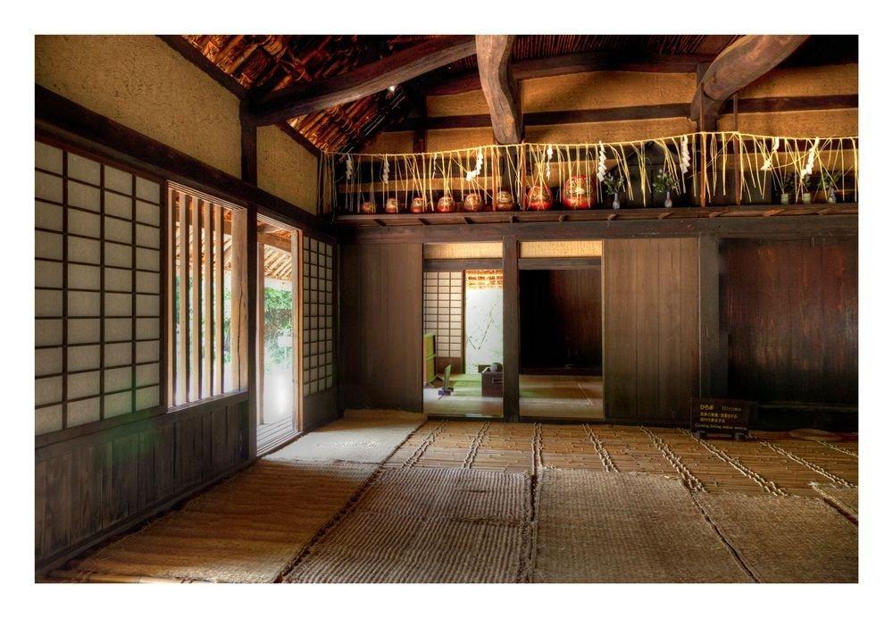 Traditional Japanese Living Room Minka Farmhouse
