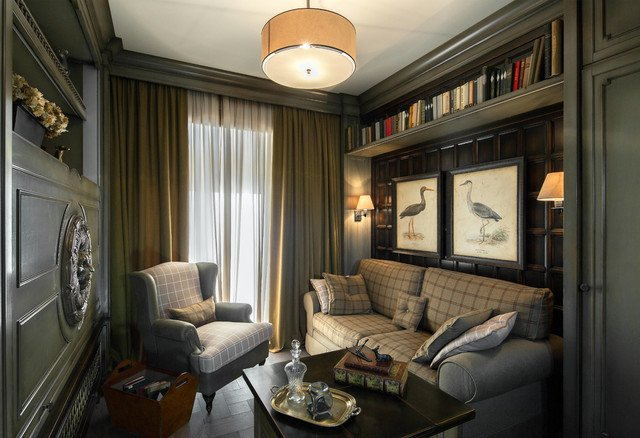 Traditional Living Room Apartment Apartment In Moscow 4 Traditional Living Room Moscow