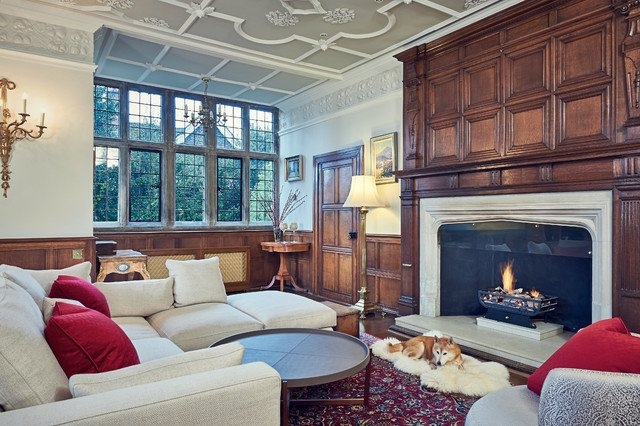 Traditional Living Room Apartment Historical Apartment Hampstead north London