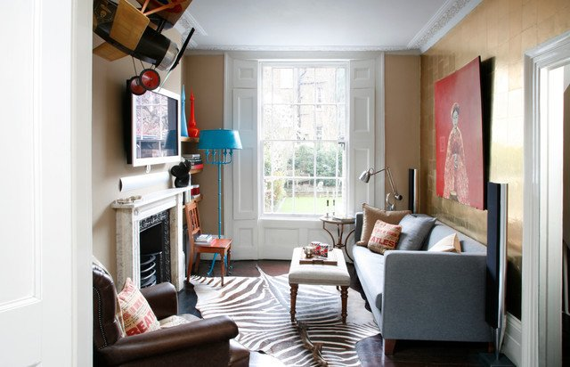 Traditional Living Room Apartment islington Apartment Traditional Living Room London