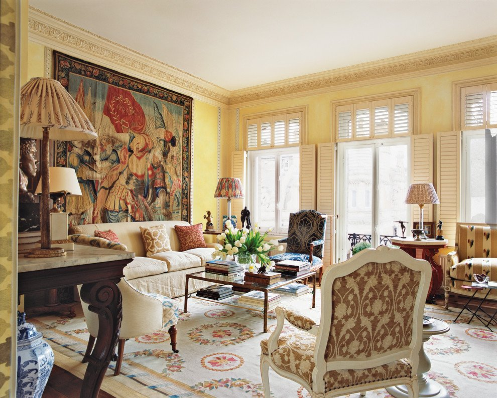Traditional Living Room Apartment Turn Back the Clock In This Opulent Historical Mansion Fit