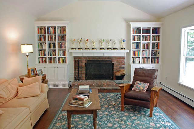 Traditional Living Room Bookcases Shaker Style Bookcases Traditional Living Room New