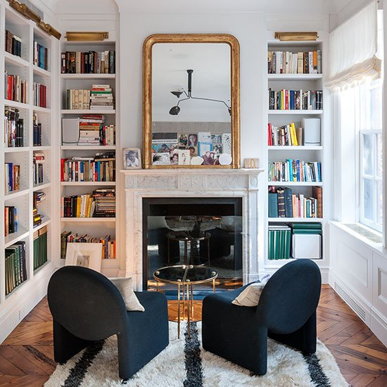Traditional Living Room Bookcases Shelving Ideas Design Ideas
