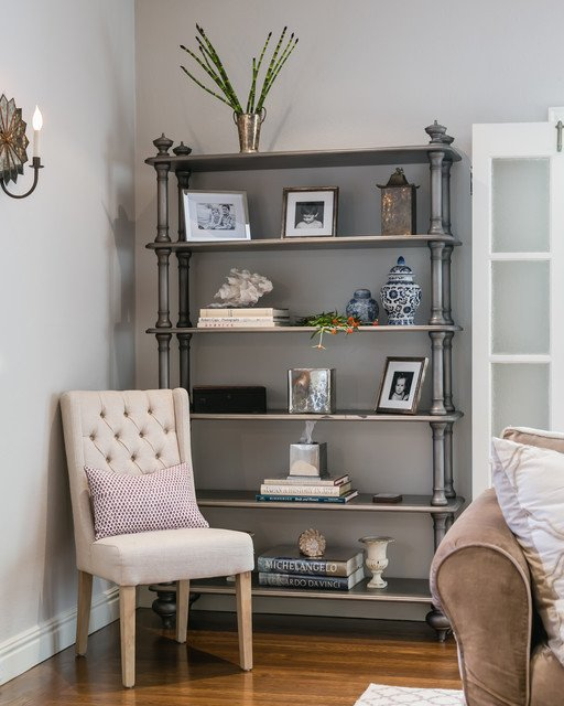 Traditional Living Room Bookcases Silver Bookcase Traditional Living Room San