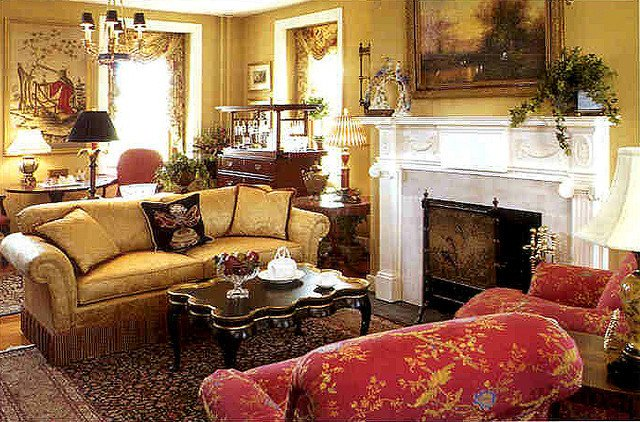 Traditional Living Room Carpets Living Room Of Allentown Designer Showhouse with Rugs by