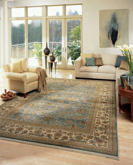 Living Room Rugs traditional living room boston